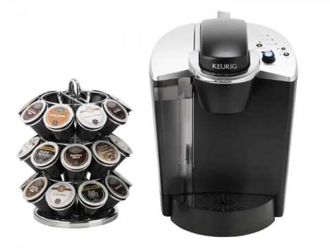 Keurig K140 with K-Cup Wire Carousel
