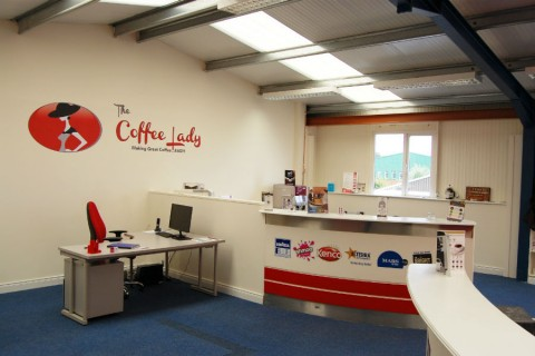The Coffee Lady - Our Showroom Img1