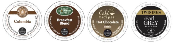 Keurig K-Cup Pods Samples