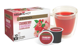cranberry and raspberry