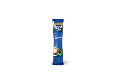 new maxwell house decaf stick