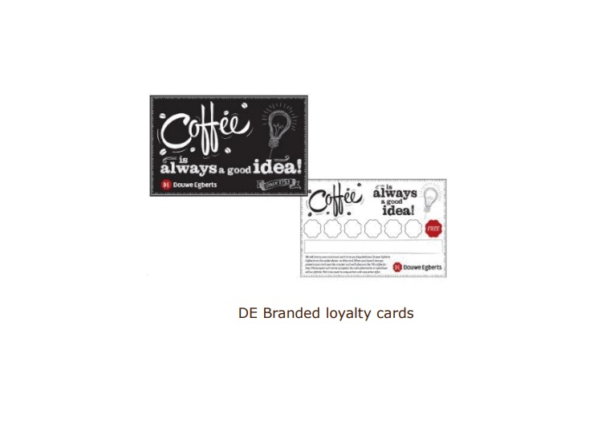 dowe egberts loyalty cards