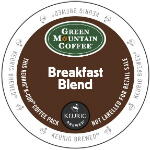 Green Mountain Breakfast Blend Light Roast Lid