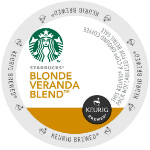 Starbucks Blonde Veranda Blend Light Roast Lid