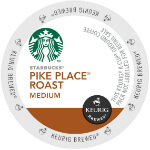 Starbucks Pike Place Roast Medium Roast Lid